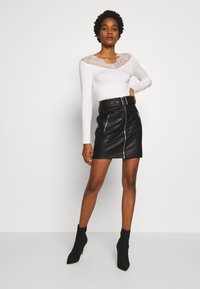 Morgan - TRACE - Long sleeved top - off white - 1
