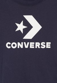Converse - STACKED WORDMARK GRAPHIC TEE - Print T-shirt - obsidian - 3