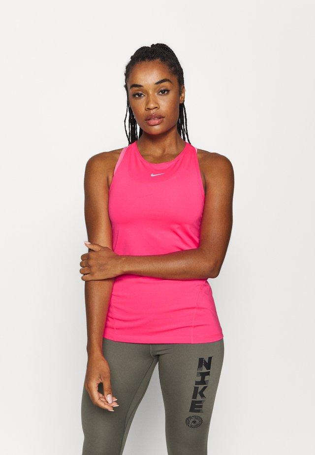 TANK ALL OVER  - Sportshirt - hyper pink/white
