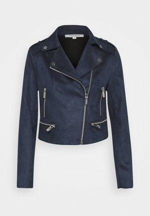 GRAMMY - Faux leather jacket - marine