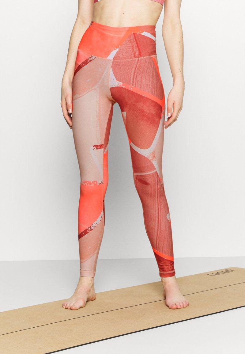 Reebok - LUX  - Leggings - orange flare