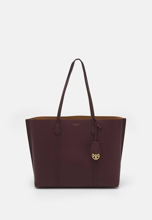 PERRY TRIPLE COMPARTMENT TOTE - Cabas - dark rhubarb