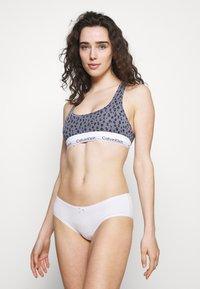 Calvin Klein Underwear - MODERN UNLINED BRALETTE - Bustier - grey - 1