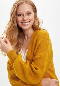 DeFacto - Cardigan - yellow - 4