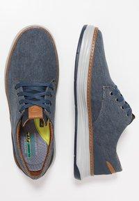 Skechers - MORENO - Zapatillas - navy - 1