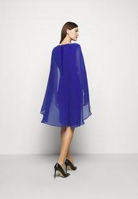 Lauren Ralph Lauren - CLASSIC DRESS COMBO - Cocktail dress / Party dress - french ultramarin - 2