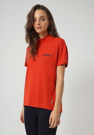 S-OODI - T-shirt con stampa - orange clay