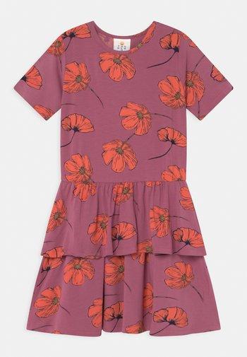 TRACY  - Jersey dress - heather rose
