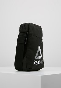 Reebok - CITY BAG - Across body bag - black - 3