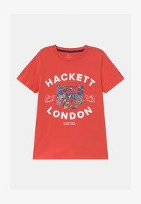 Hackett London - Print T-shirt - hibiscus - 0
