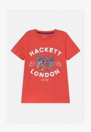 Print T-shirt - hibiscus