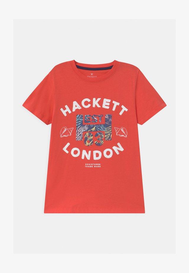 T-Shirt print - hibiscus