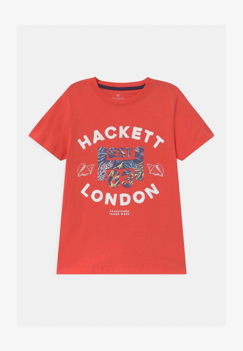 Hackett London - Print T-shirt - hibiscus