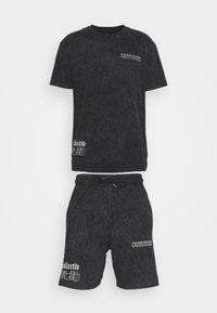 Common Kollectiv - WASHED TWINSET UNISEX - T-shirt imprimé - black - 6