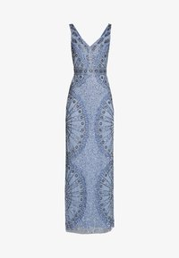 Lace & Beads - NAFISA - Occasion wear - dusty blue - 4