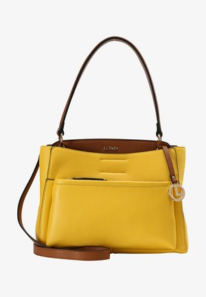 HOBO GENNY - Handbag - lemon
