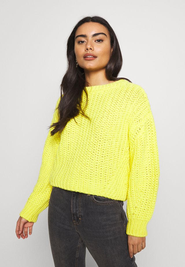 MIX TRAVELLING  - Jumper - yellow