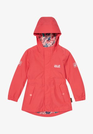 HIDDEN FALLS GIRLS - Hardshell jacket - tulip red