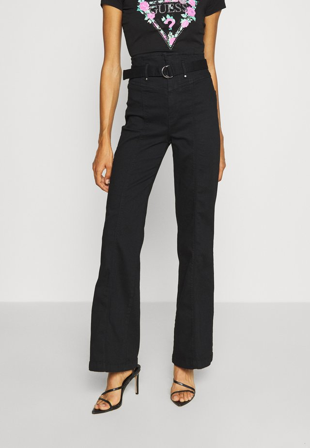 MARYLOU CORSET - Flared Jeans - groovy