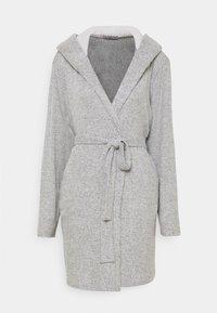 Anna Field - RIBBED BATHROBE - Dressing gown - grey - 4