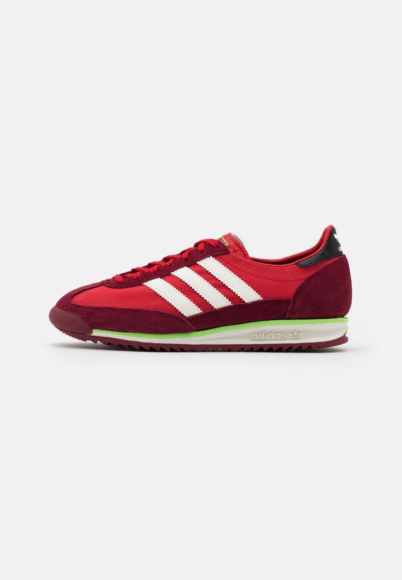 adidas Originals - SL 72 UNISEX - Sneakers basse - scarlet/offwhite/collegiate burgundy