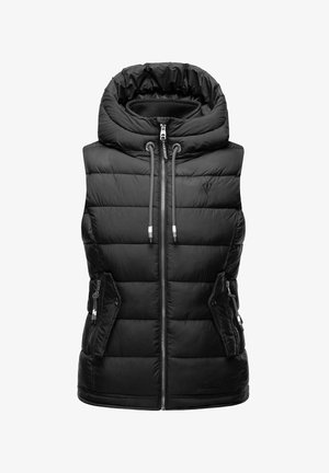TAISAA - Waistcoat - black