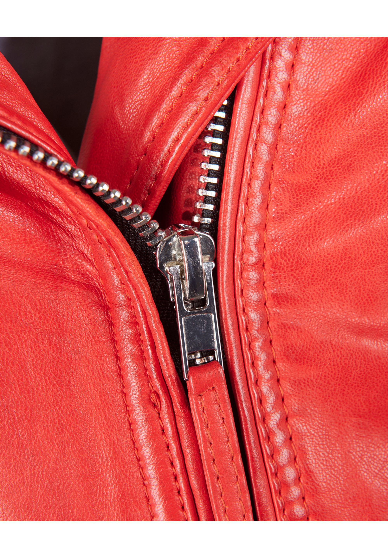 Mustang MODERN TANNA Lederjacke red/rot