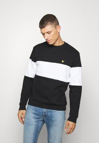 Lyle & Scott - LOGO - Sweatshirt - jet black - 0
