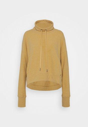 HARMONISE LUXE - Sweatshirt - camel brown