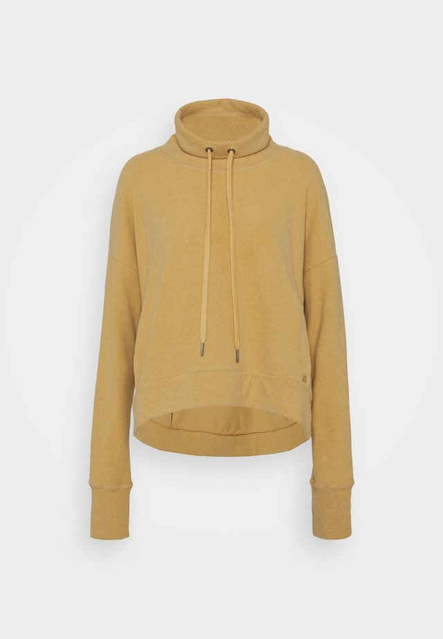 HARMONISE LUXE - Sweater - camel brown