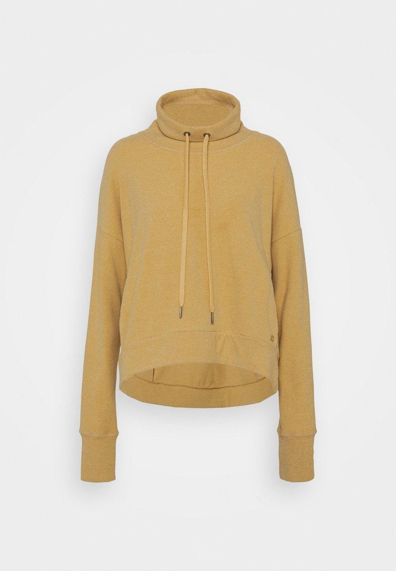 Sweaty Betty - HARMONISE LUXE - Sweatshirt - camel brown