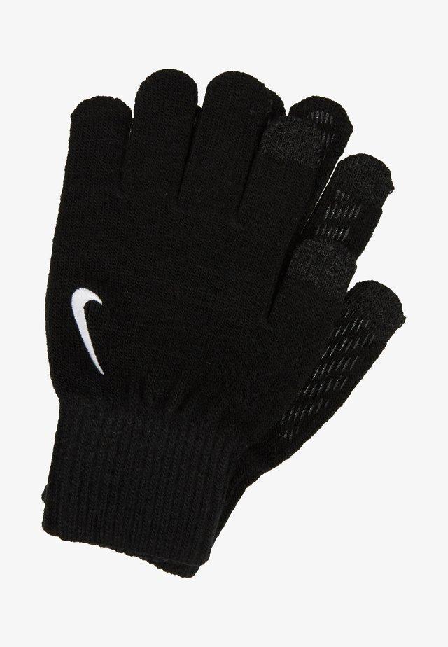 TECH AND GRIP GLOVES - Gloves - black/white