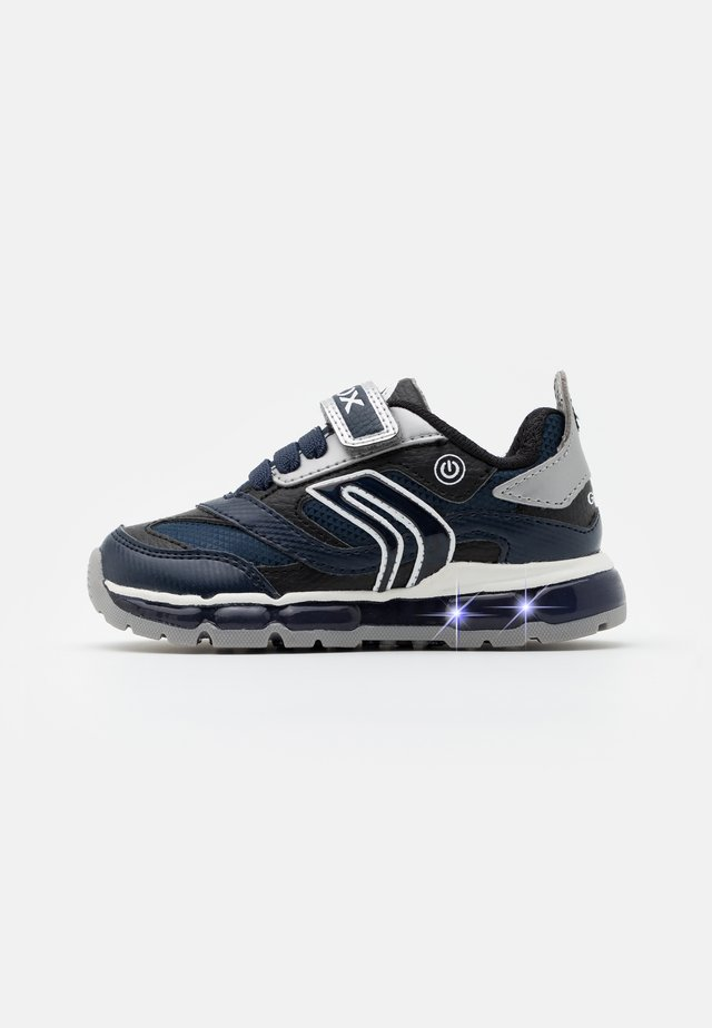 BOY - Sneakers basse - navy/silver