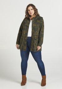 Zizzi - Summer jacket - army - 1