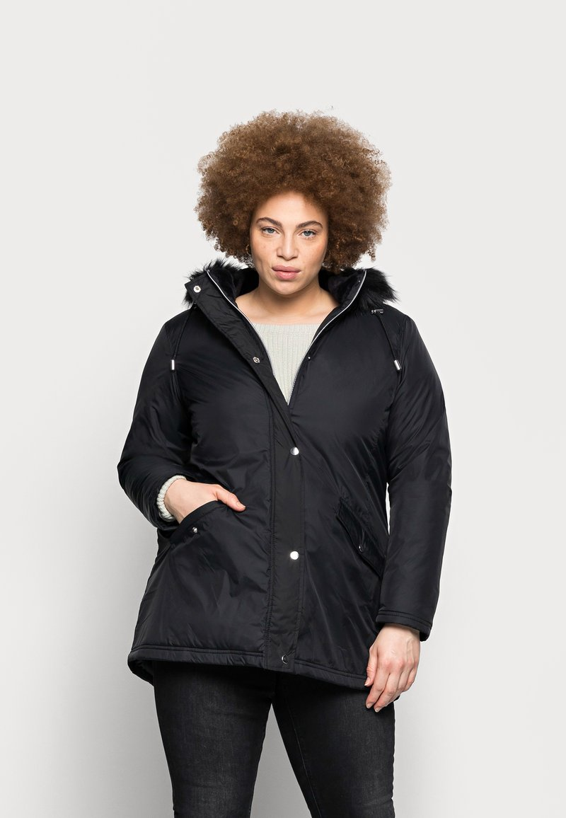 CAPSULE by Simply Be - VALUE - Parka - black