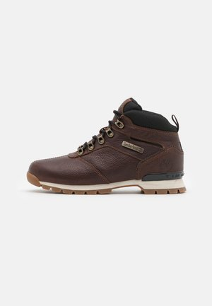 SPLITROCK  - Lace-up ankle boots - dark brown