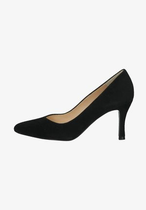 Klassieke pumps - schwarz suede