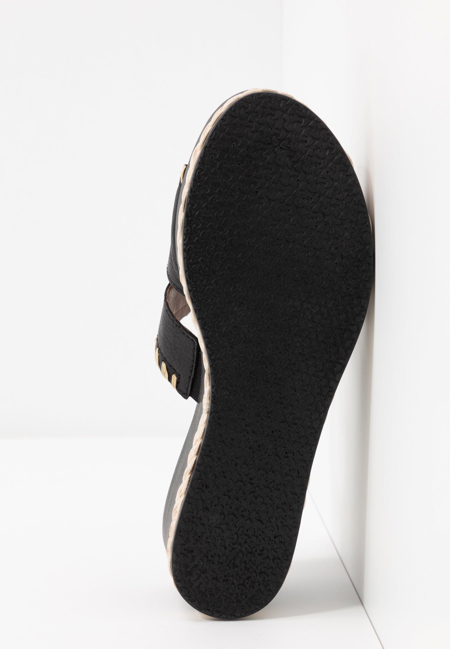 Tamaris Slip-ins med klack black/natural