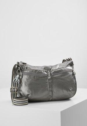 IZELLAH - Across body bag - carbon metallic