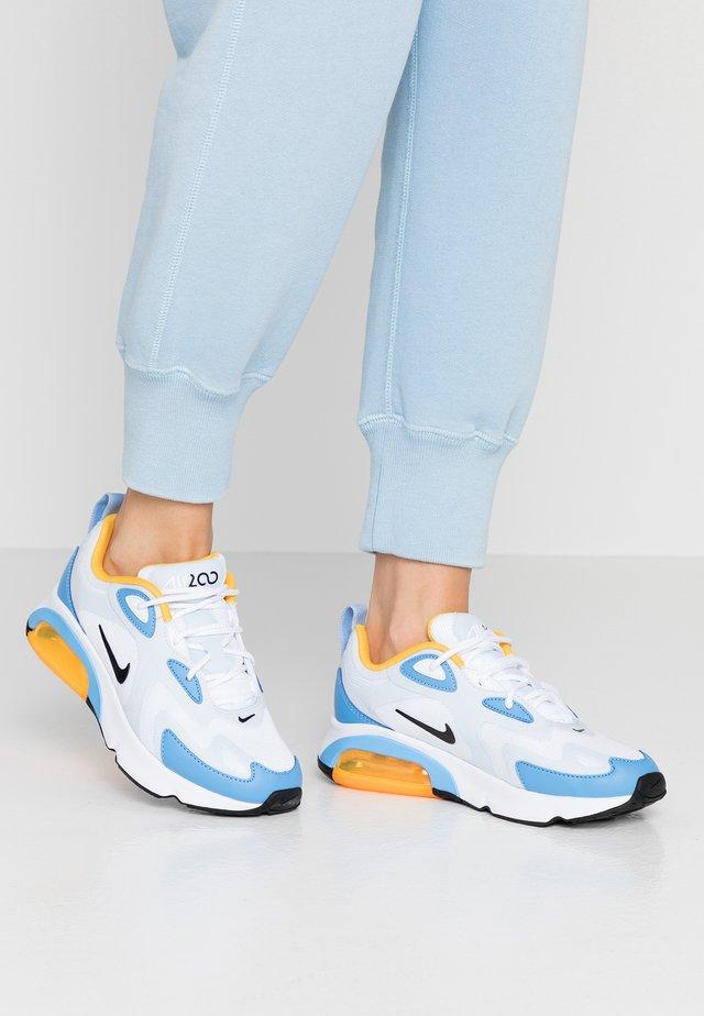 AIR MAX 200 - Sneakersy niskie - white/black/half blue/university blue/university gold/pink blast