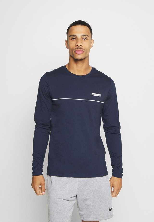 JCOZLS TEE - Long sleeved top - navy