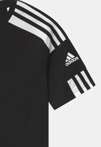 adidas Performance - SQUAD UNISEX - Triko spotiskem - black/white - 2