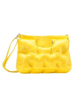 QUILTED BAG - Torebka - yellow
