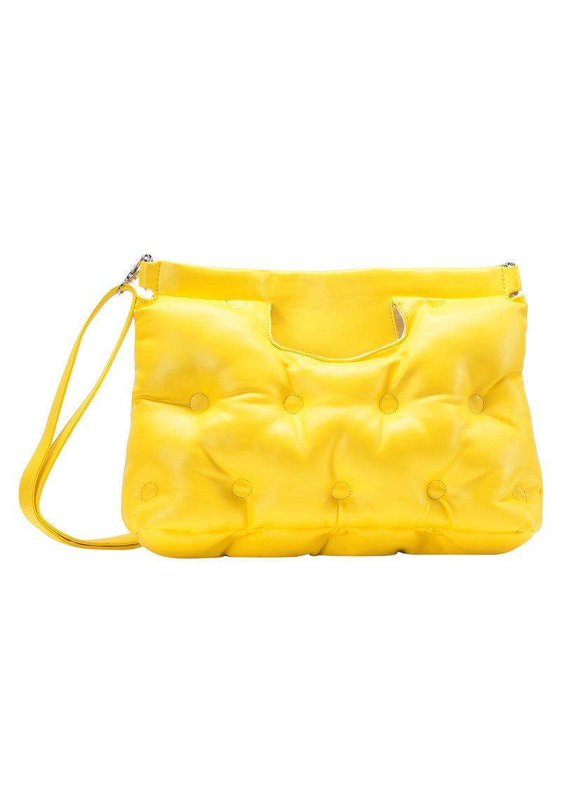 myMo - QUILTED BAG - Handbag - yellow