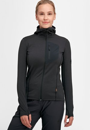 ACONCAGUA LIGHT ML  - Soft shell jacket - black-black