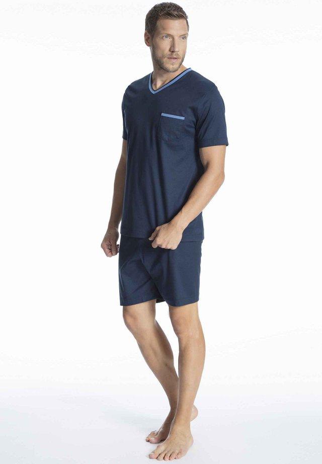 KURZ - Pyjama set - yacht blue