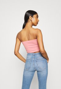 Hollister Co. - REVERSIBLE TUBE - Top - dark pink - 2