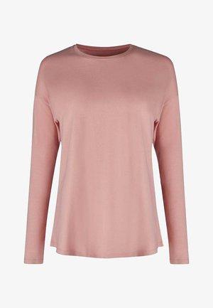 SLEEP & DREAM LANGARM - Pyjama top - light pink