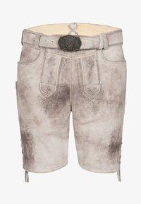 Spieth & Wensky - GABRIEL - Leather trousers - beige - 3