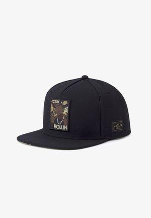ROLLIN  - Cap - black/woodland